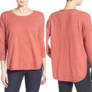 Madewell clearweather pullover sweater long sleeve